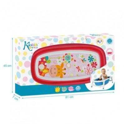 Bañera plegable Kio Kids Rosa
