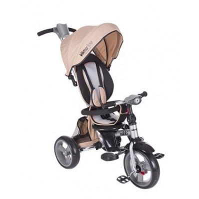 Triciclo de Bebé Kikka Melange Beige 3 en 1 Plegable