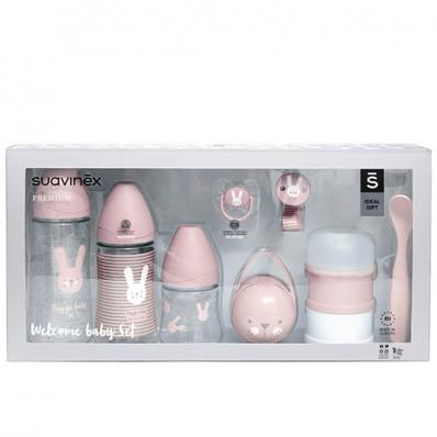 Set biberones suavinex rosa