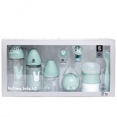 Welcome baby set verde de Suavinex