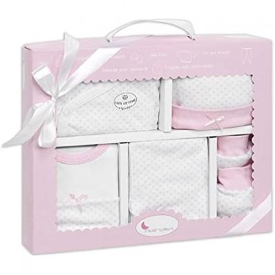 Set regalo 5 piezas rosa Interbaby