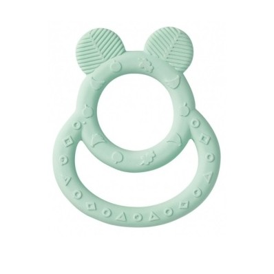 "Mordedor Nature Toy ""Soft Ears"" verde de Saro"
