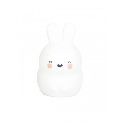 Luz de compañia little bunny blanco de Saro