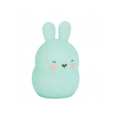 Luz de compañia little bunny verde de Saro