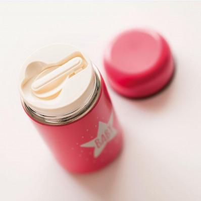 Termo papillero baby star pink de Olmitos