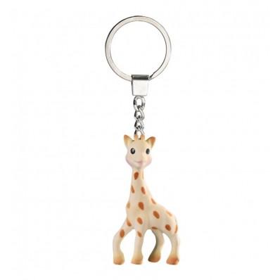 Mordedor Sophie La Girafe Happy Mama + Llavero beige