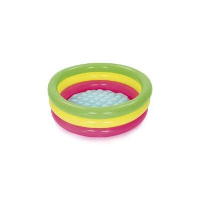 Piscina de 3 anillos de colores Summer Waves  86 cm x 25 cm
