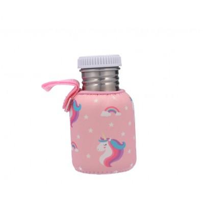 Botella Acero con Funda Dinosaurios Personalizable 350m