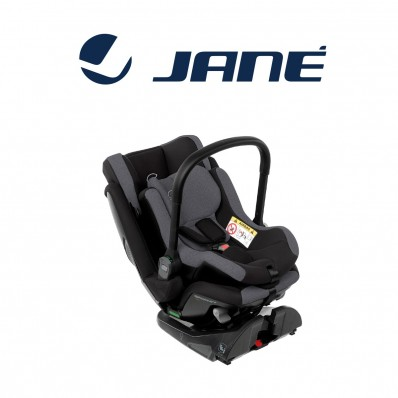 Silla de auto Jane Growy mas Nest Jet Black