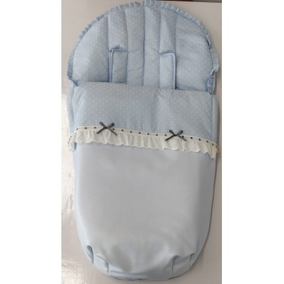 Saco silla Oviedo azul de Brisa Bebé