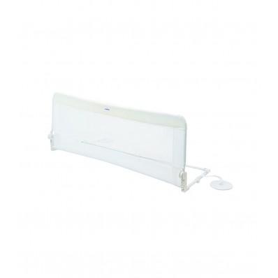 Barrera de cama 150cm blanca de Olmitos