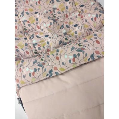 Saco silla Universal Rosa Hojas Rosa Rosy Fuentes