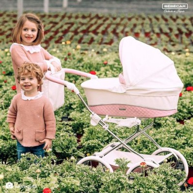 Cochecito de muñecas Bebecar Doll's Pram