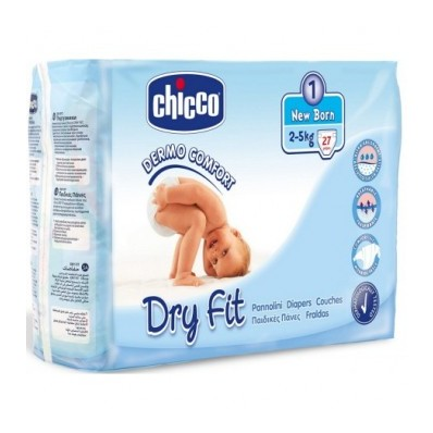 Pañales Chicco Dry Fit.