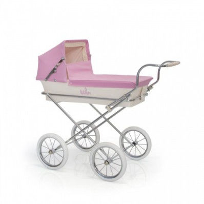 Coche de muñecas mini Paris Rosa de Bebelux