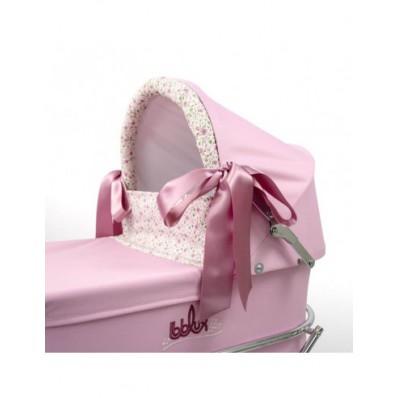 Coche de muñecas Romantic Rosa de Bebelux